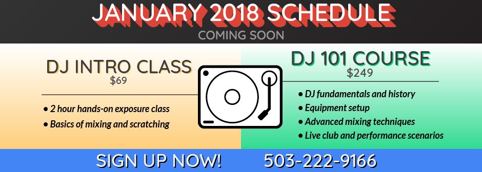 Classes Banner